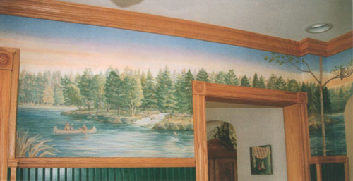 North Woods Mural